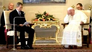 Bush ve Papa