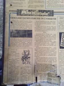 Özden Gazetesi 5, 1977