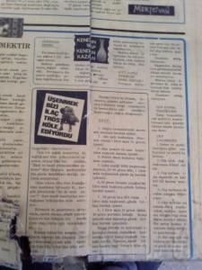 Özden gazetesi 6, 1977
