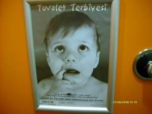 Tuvalet Reklamı