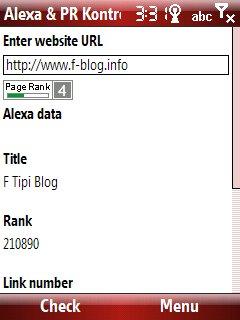 Alexa & PR Kontrol ekran görüntüsü