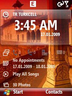 WM 6.1 Ekran Görüntüsü