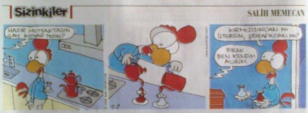 07 Şubat 2009, Sabah Gazetesi Sizinkiler