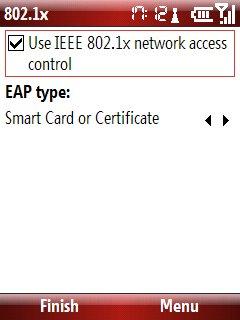 Wi-Fi ayarları son ekran