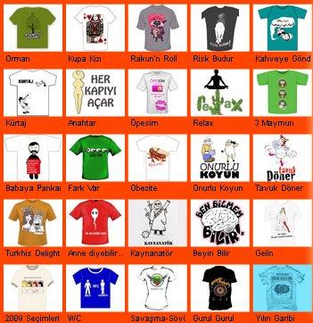 Çatlak T-shirt bu yılki 30 aday