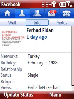 Profil sayfam