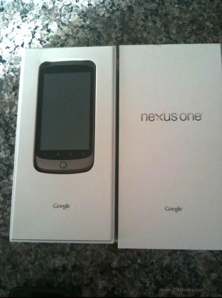 Nexus One kutusu.