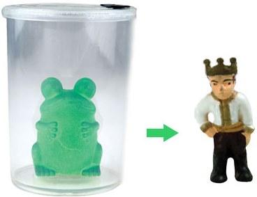 Kurbağa'dan prense sönüşüm işleminde kaba su koyuyorsunuz sadece.