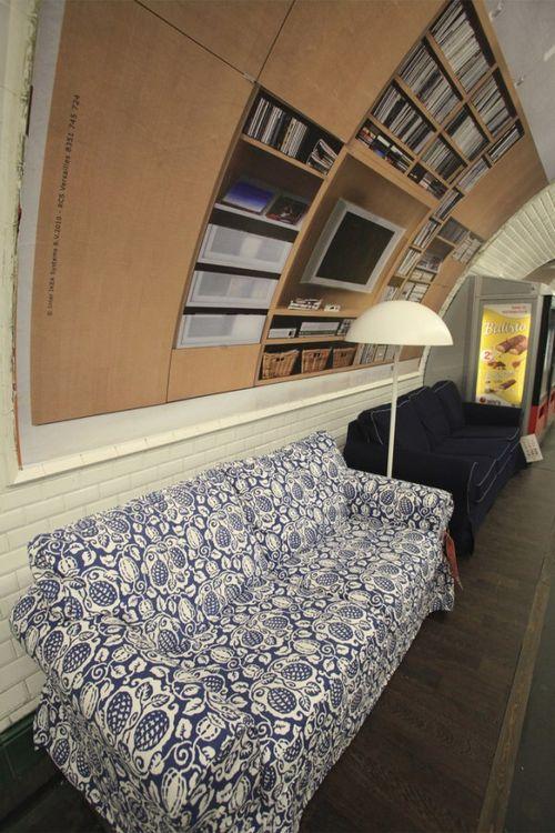 Paris metrosunda IKEA 5