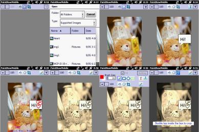 Paint Now! Mobile ekran görüntüleri.