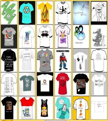 Çatlak T-shirt 2010 oylamaya kalanlar.