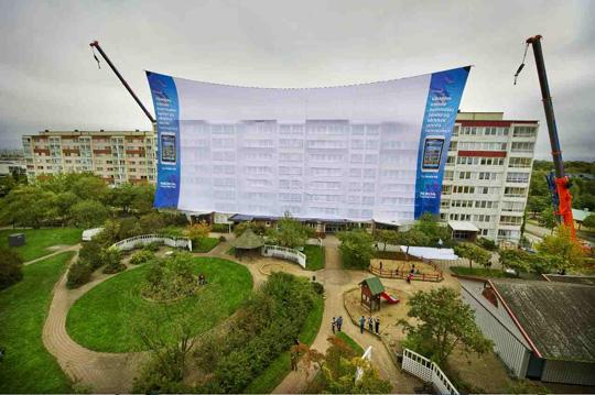 Nokia Dünya'nın en büyük beyaz perdesi