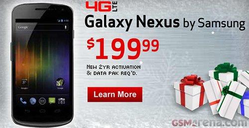 Samsung Galaxy Nexus 199$