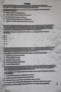 2012 KPSS Genel yetenek çalıntı sorular.