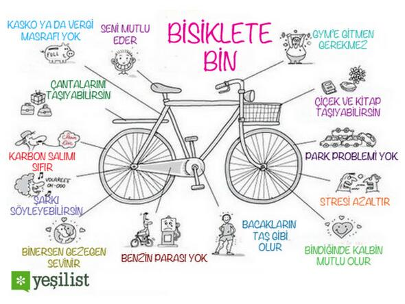 Bisiklete bin.