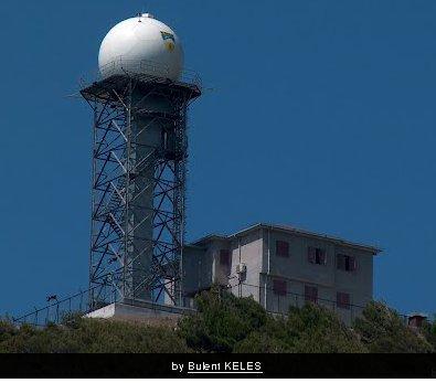 Panoramio'dan Hatay radarı görüntüsü.