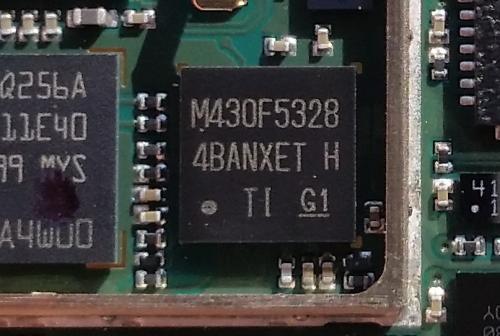 TI M430F5328