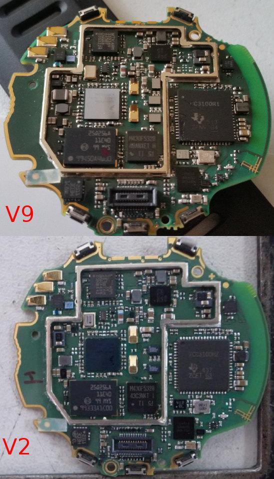 V9 vs. V2