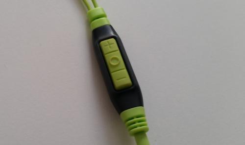 Sennheiser OCX686i Sports kulaklık kumanda.