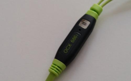 Sennheiser OCX686i Sports kulaklık mikrofon.