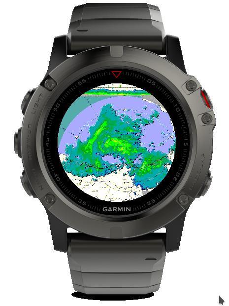 Radar uygulaması MAX görüntüsü