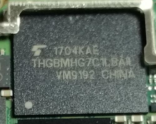 Toshiba 16GB THGBMHG7C1LBAIL